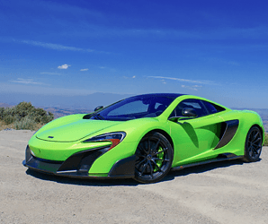The 2016 McLaren 675LT is so ludicrously fast that it can outrun fear itself