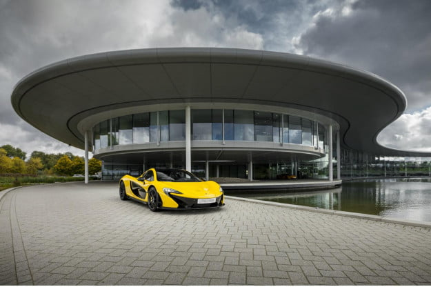 The first P1 to be delivered is going to make someone very happy.