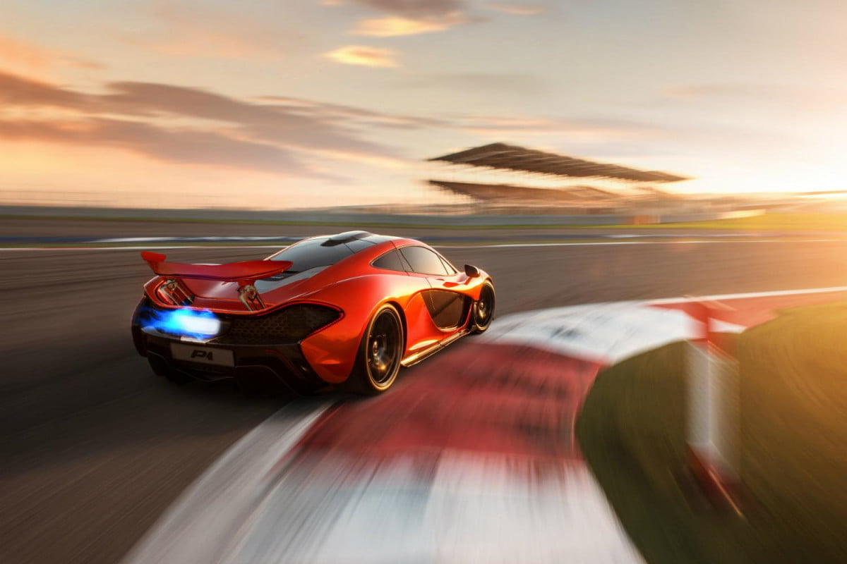 official mclaren p  may just done fastest ever lap nurburgring track