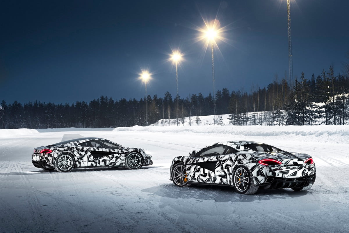 mclaren ice driving experience pure arctic