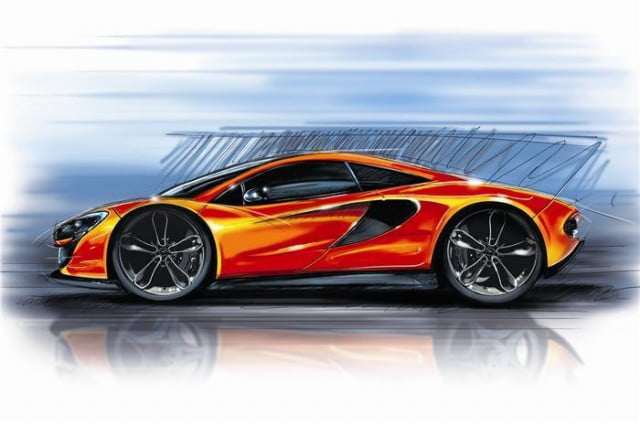 mclaren p  entry level supercar confirmed teaser
