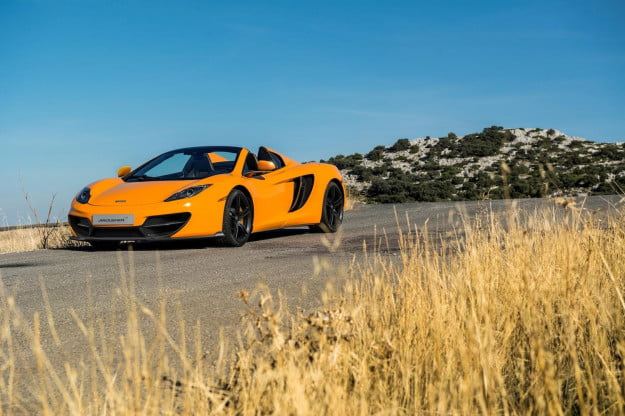 McLaren builds an inexplicably lighter weight MP4-12C to celebrate its 50th