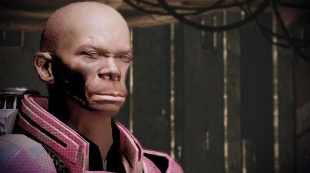 A face only a Krogan could love.