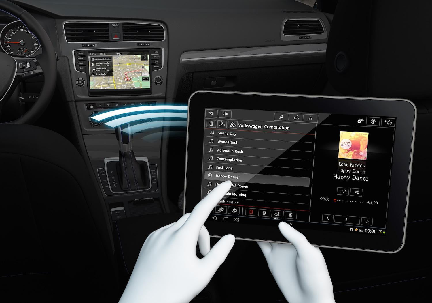 Volkswagen Mirrorlink Infotainment At Ces 2015 Digital
