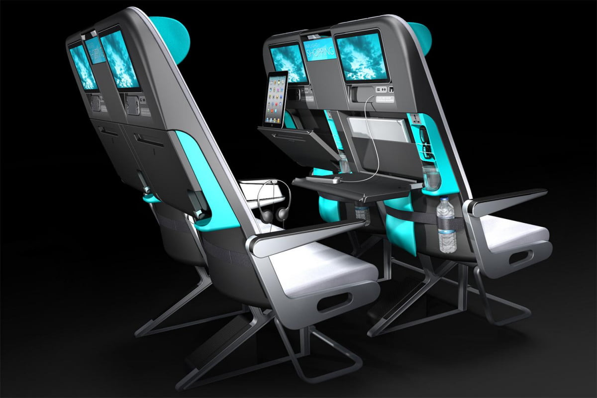 New Carriage Seat ~ New smaller coach seat designs for planes digital trends