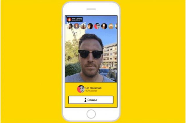meerkat cameo feature take over live stream banner iphone  a