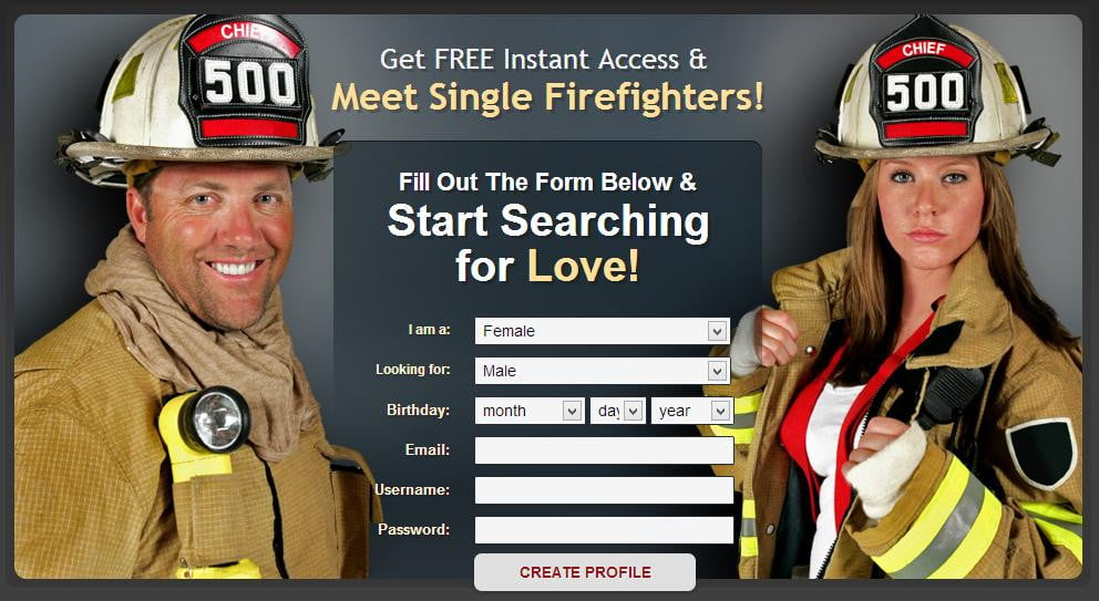 dating a fireifghter - Cool Graphic
