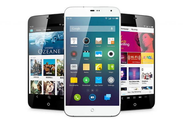 meizu mx  smartphone available online flow