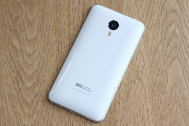 Meizu MX4 with Ubuntu back full angle