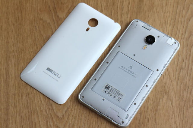 Meizu MX4 with Ubuntu case off