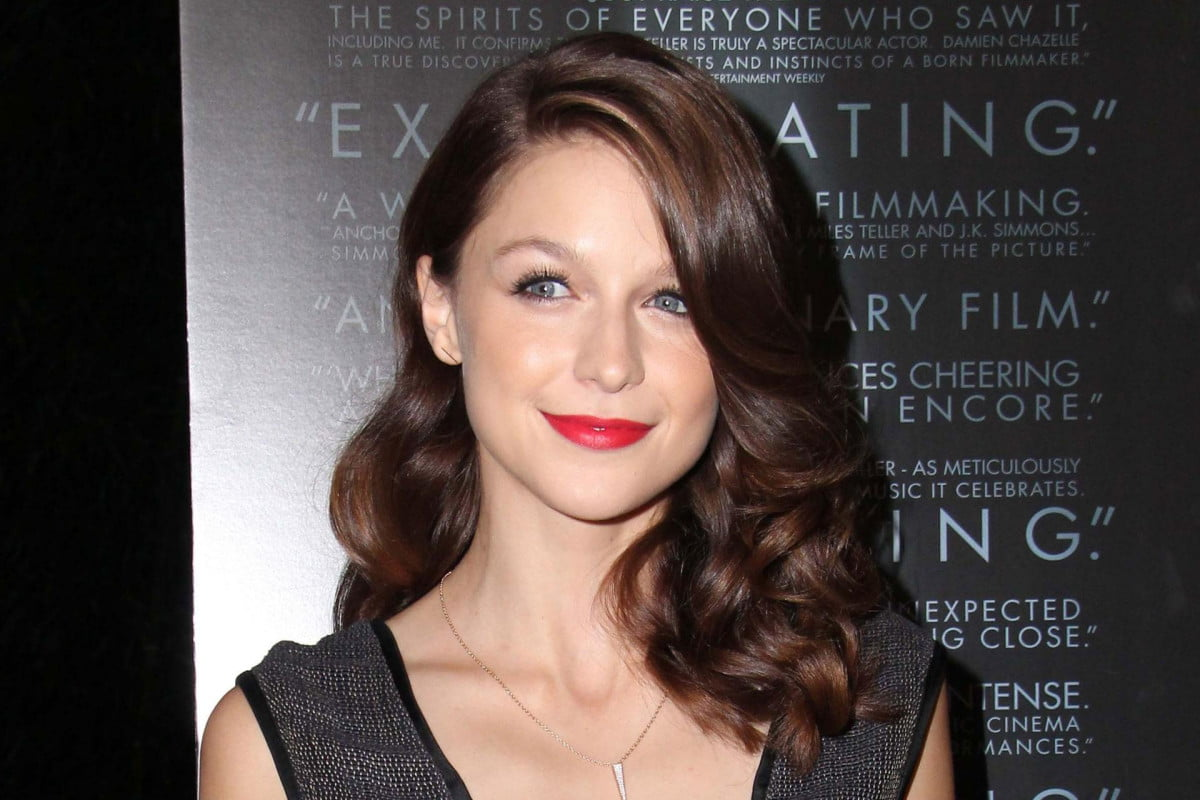 glee actress cast supergirl upcoming television series melissa benoist
