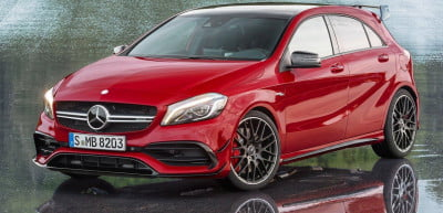 Mercedes-Benz-A45_AMG_2016 front angle