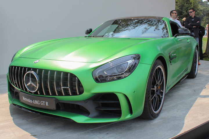 monterey car week pebble beach concours delegance  mercedes amg gt r