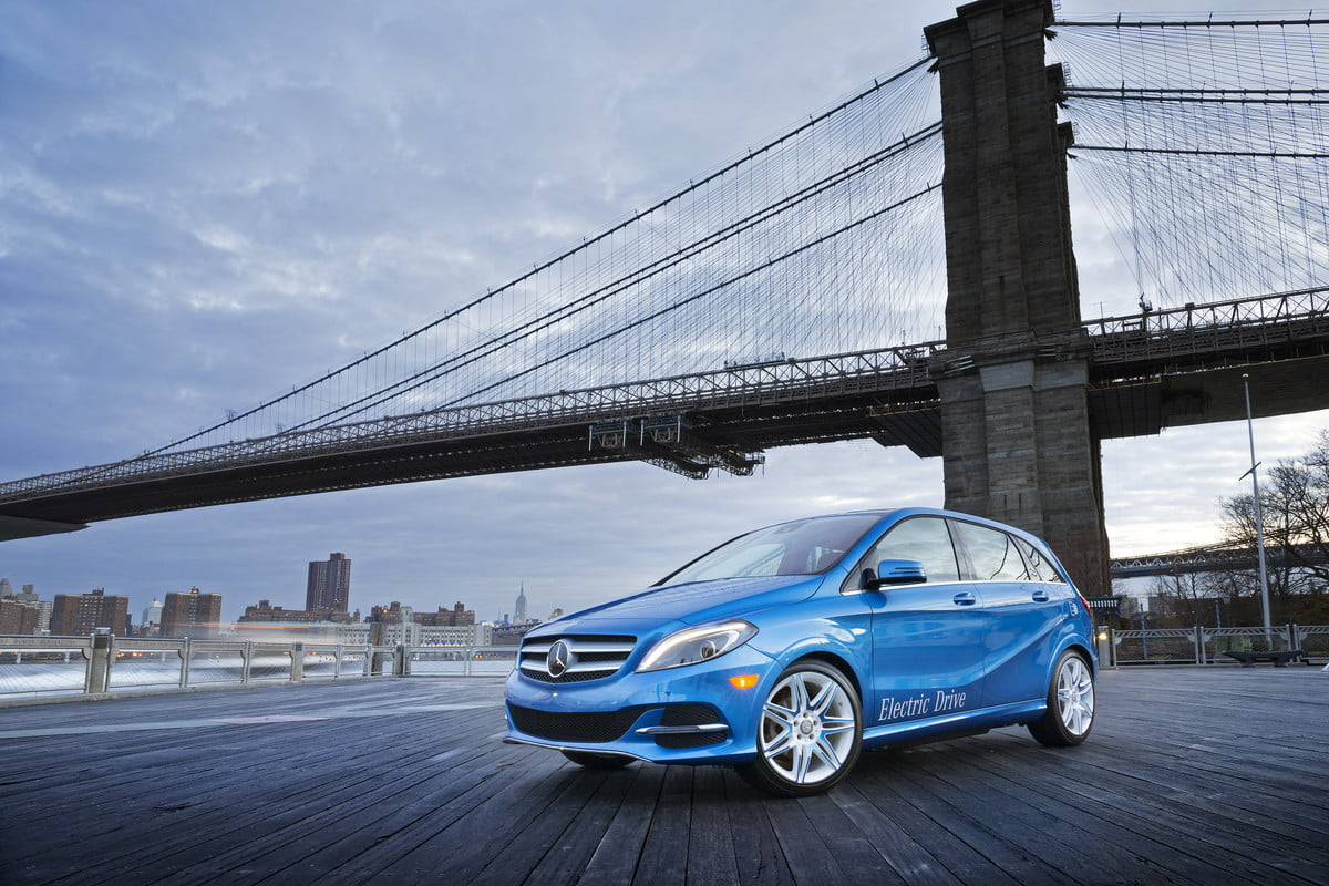 mercedes developing new ev platform to fight tesla rumor benz b class electric drive