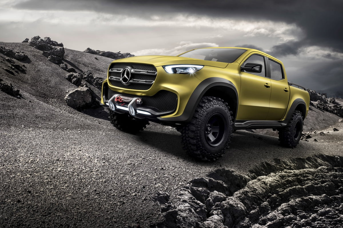 mercedes amg x class ruled out news quotes details benz concept