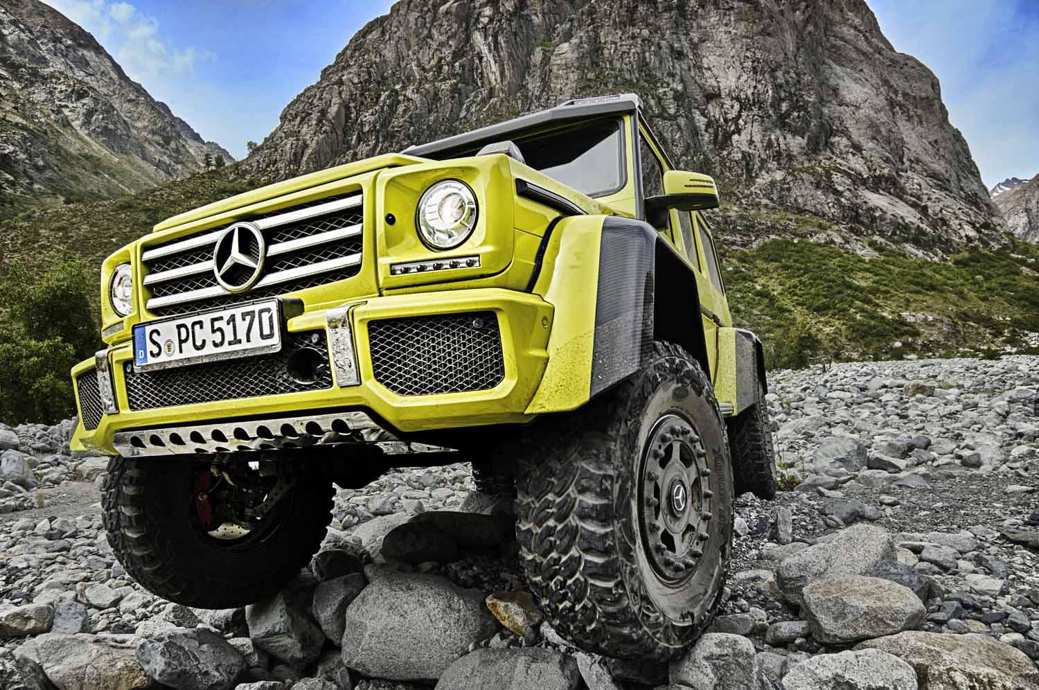 Mercedes benz g500 4x4 official pictures specs for Mercedes benz g500
