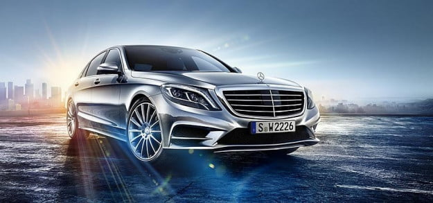 2014 Mercedes-Benz S-Class leaked photo