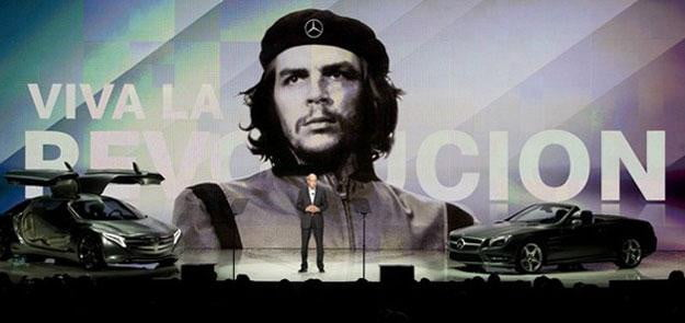 Mercedes-boss-suffers-CES-snafu,-offends-Cubans-with-Che-Guevara-reference
