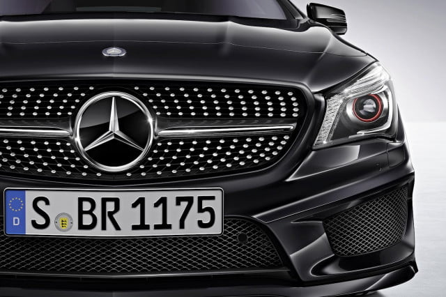mercedes not to offer diesel powered cla in the u s front end cu