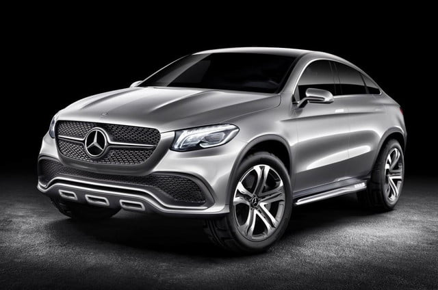 mercedes benz previews future bmw x  rival concept coupe suv form ahead beijing motor show