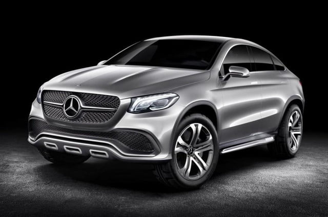 mercedes x  battling crossover dubbed ml coupe released concept