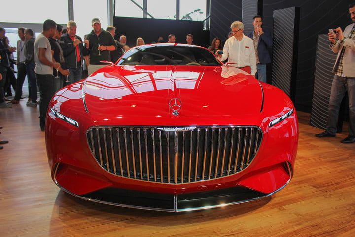 monterey car week pebble beach concours delegance  mercedes maybach