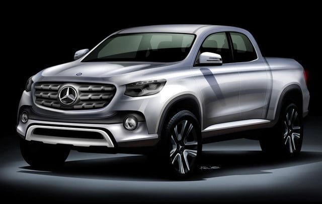 mercedes benz to get help from nissan on its pickup truck