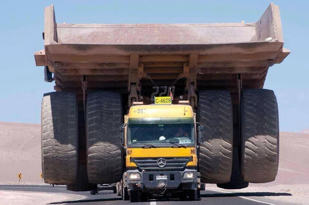 mercedes truck might actually able haul anything mining