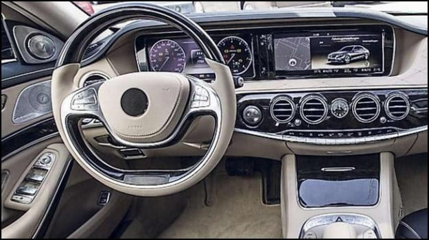 Mercedes-Benz S-Class interior leaked