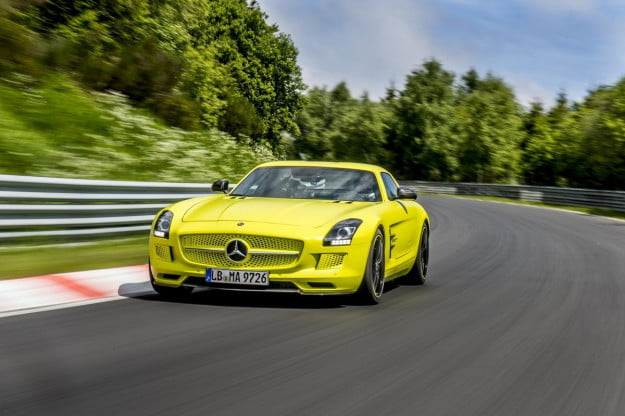Mercedes SLS electric