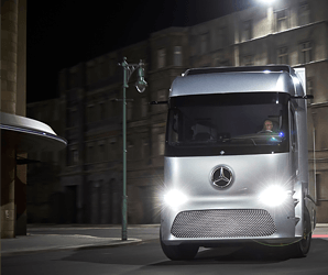 Mercedes' Urban eTruck looks as futuristic as a box on wheels can