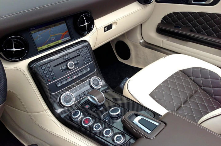 forget the lamborghini stud amgs sls gt is gentlemans sportscar mercedes benz amg roadster interior front