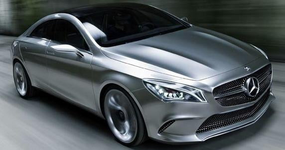 Mercedes-Benz Concept Style Coupe motion view