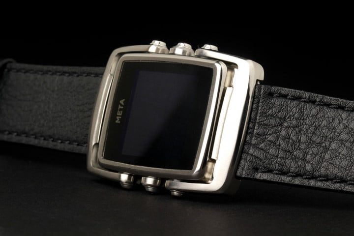 meta m  core review watch face angle