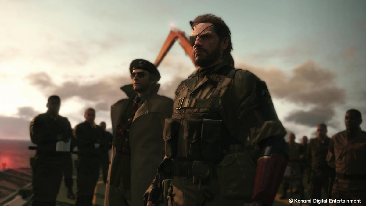 metal gear solid v ground zeroes phantom pain confirmed pc release  e