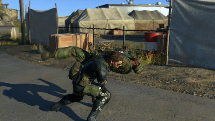 metal gear solid v ground zeroes review  screenshot