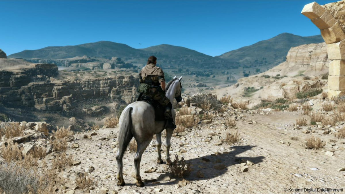 watch metal gear solid v phantom pain action mgs horseback