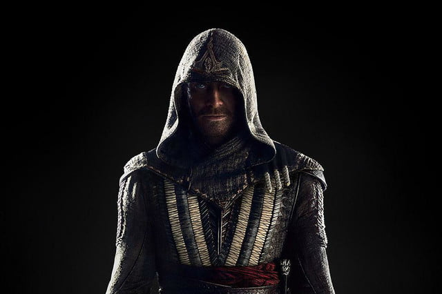 assassins creed movie marketing michael fassbender crop