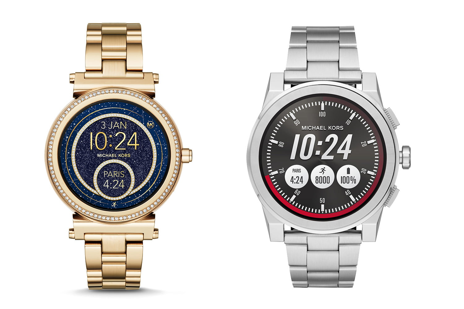 Michael Kors Access Sofie and Access Grayson Smartwatches ...