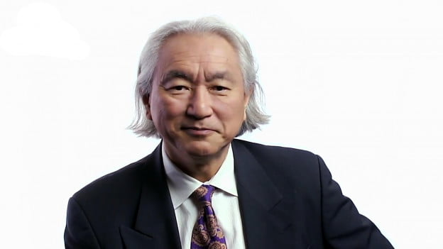 Michio Kaku speaking on Big Think