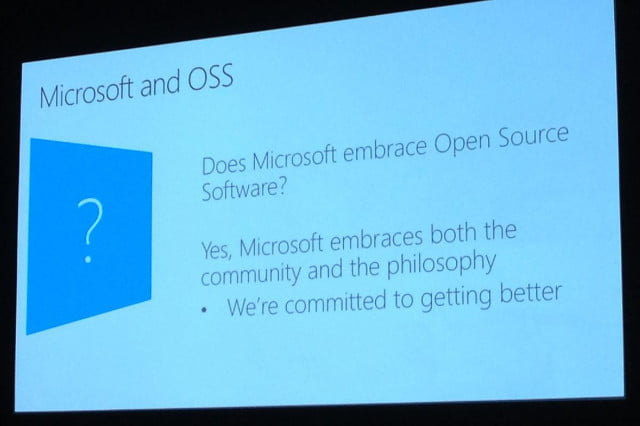 say goodbye to microoft the new microsoft is all about openness microopen opensource