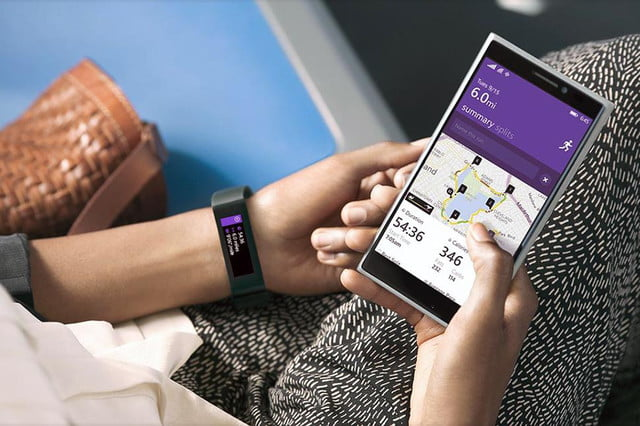 next gen wearables microsoft band app