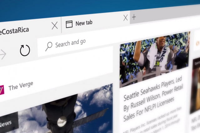 microsoft edge receives extensions browser