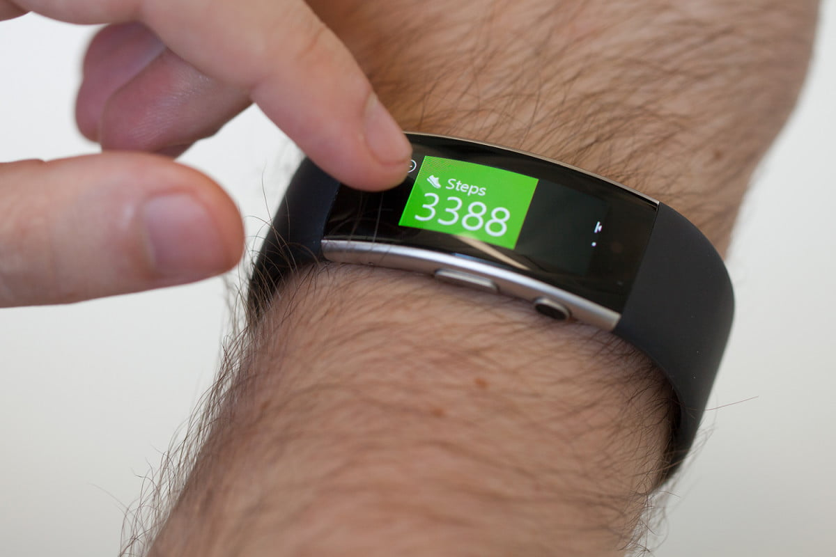 microsoft band  activity reminder update news