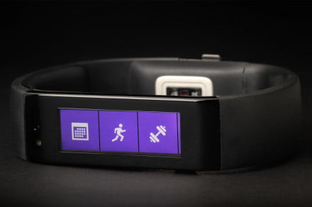 Microsoft Fitness band review front