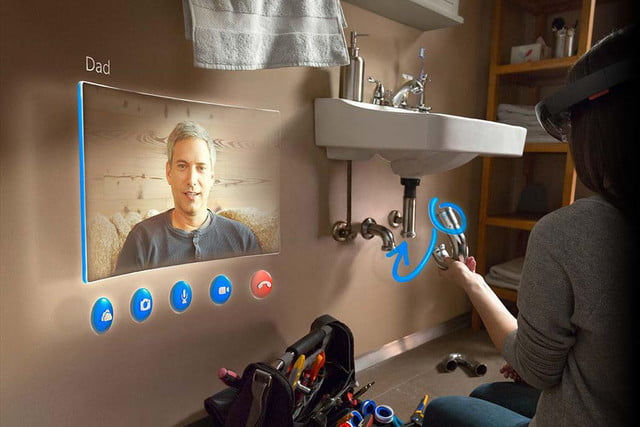 will microsofts holographic headset allow you to read emotions hololens