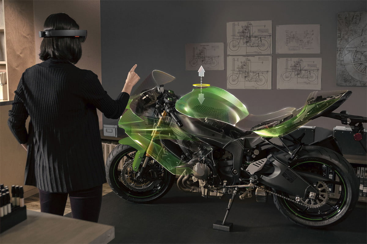 is hololens the future of education microsoft motorcycle