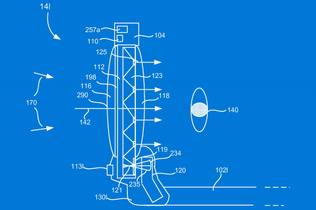 hicrosoft hololens related vr patent microsoft