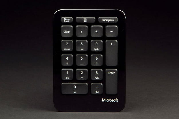 Microsoft Sculpt Ergonomic Keyboard trackpad front