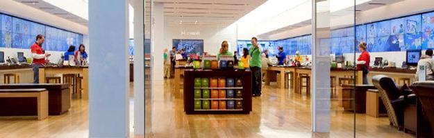 microsoft store inside apple store hp dell windows retail